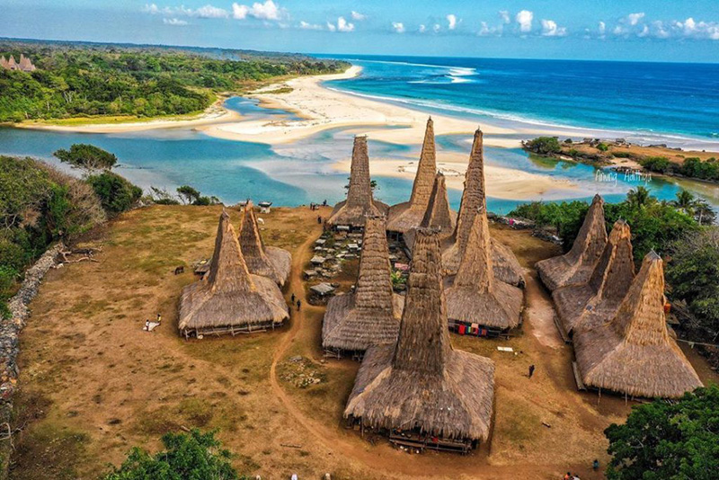 Ratenggaro village in Sumba